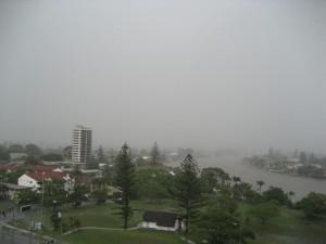 Sunny Gold Coast Arrival