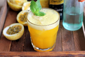 passion fruit drink