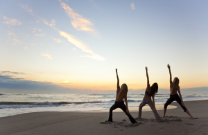 yoga-sunrise