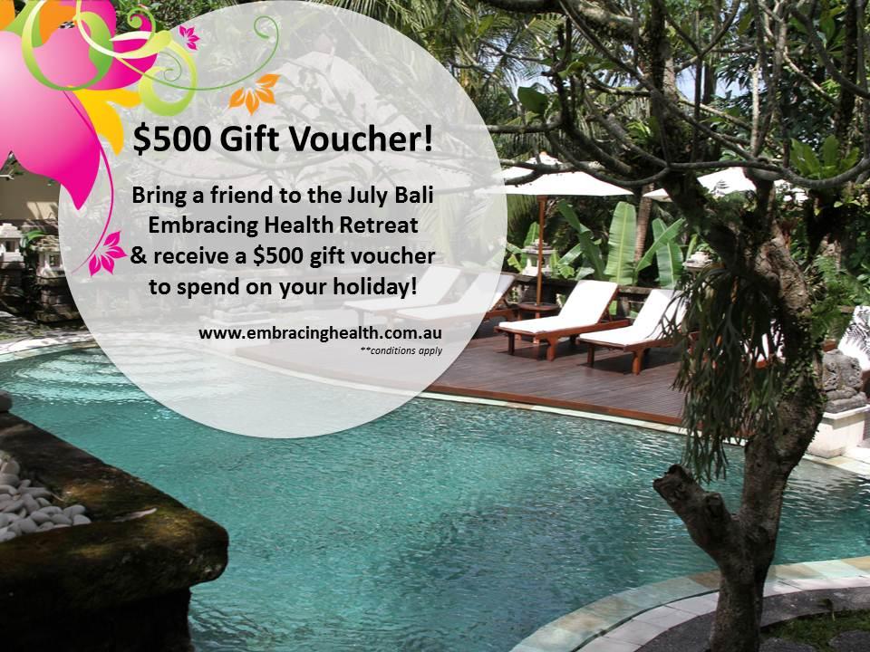 Bali Gift Voucher